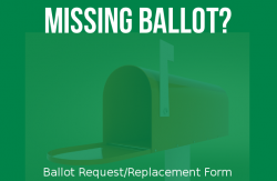 Missing Your Ballot?