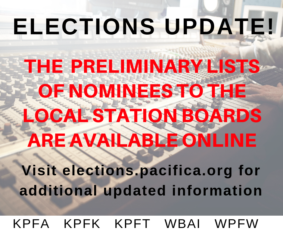 Nominees Listed